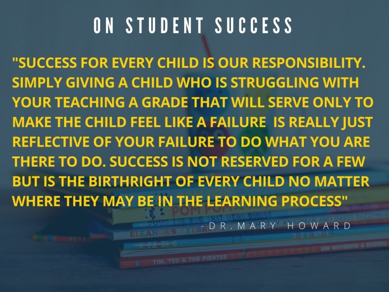 On student success