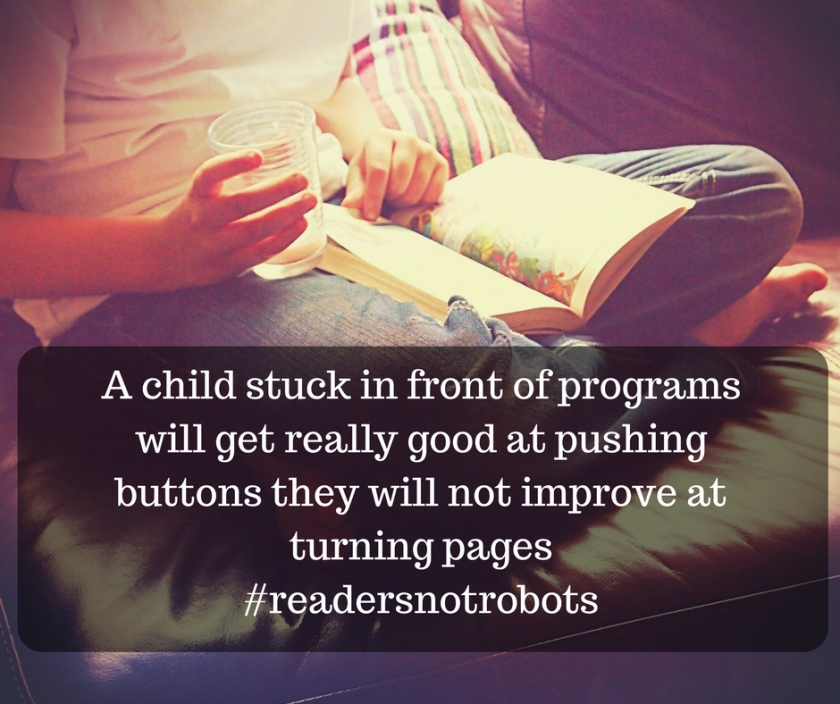 #readersnotrobots