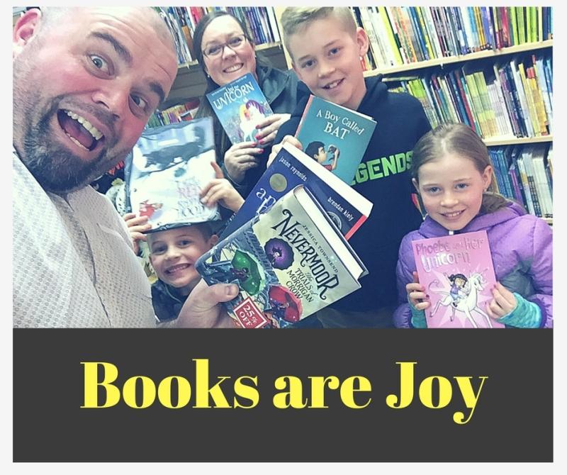 Books are Joy