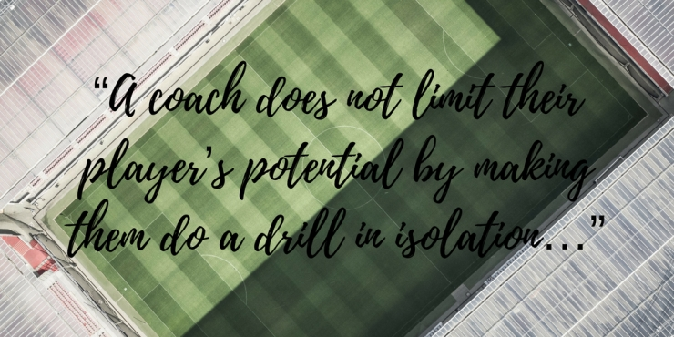 A coach does not...